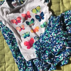 3 pc set sz 3T.  Worn once-like new.